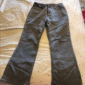 Chico's Platinum gray jeans